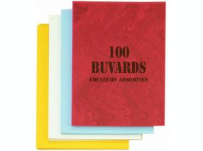 Paquet 100 buvards 160g